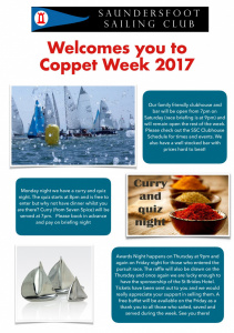 Coppet Week 2017 Poster